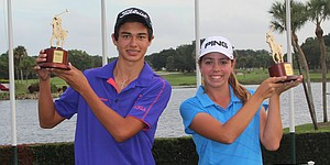 Castillo, Gillman are stroke-play medalists at Polo