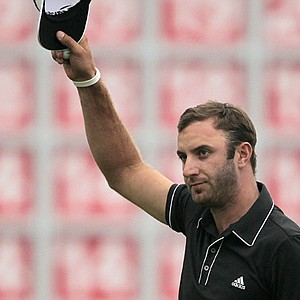 Dustin Johnson won the WGC-HSBC Champions on Nov. 3 at Sheshan International in Shanghai.