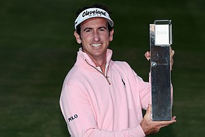 Gonzalo Fernandez-Castano won the BMW Masters on Oct. 27 at Lake Malaren in Shanghai, China.