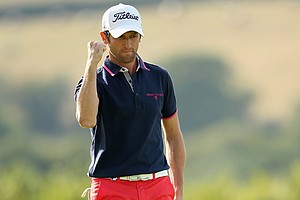 Gregory Bourdy won the ISPS Handa Wales Open on Sept. 1 at The Celtic Manor Resort in Newport, Wales.