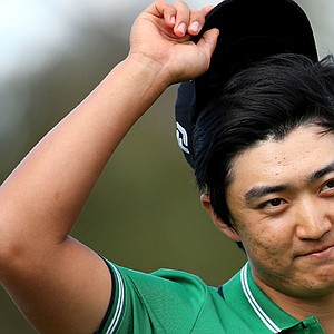 Jin Jeong won the ISPS HANDA Perth International on Oct. 20 at Lake Karrinyup in Perth, Australia.