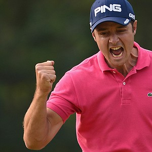 Julien Quesne won the Open d'Italia on Sept. 22 at Golf Club Torino in Turin, Italy.