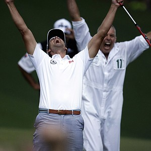 Adam Scott won the Masters on April 14 at Augusta (Ga.) National.