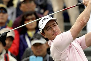 Brett Rumford won the Ballantine's Championship on April 28 at Blackstone in Icheon, South Korea.