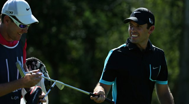 Charl Schwartel during the third round of the European Tour's 2013 Alfred Dunhill Championship.