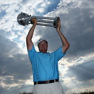 Dawie van der Walt won the Tshwane Open on March 3 at Copperleaf Golf & Country Estate in Centurion, South Africa.