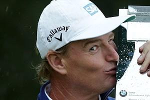 Ernie Els won the BMW International Open on June 23 at Golfclub München Eichenried in Munich, Germany.