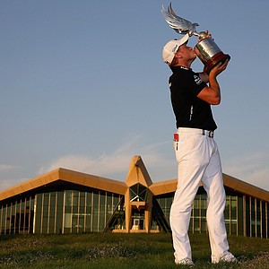 Jamie Donaldson won the Abu Dhabi HSBC Golf Championship on Jan. 20 at Abu Dhabi GC in Abu Dhabi, United Arab Emirates.