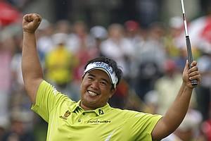Kiradech Aphibarnrat won the Maybank Malaysian Open on March 24 at Kuala Lumpur (Malaysia) G&CC.