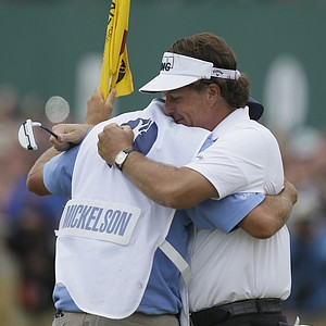 Phil MIckelson won the Open Championship on July 21 at Muirfield in Gullane, Scotland.
