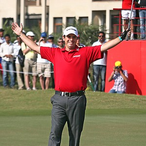 Thomas Aiken won the Avantha Masters on March 17 at Jaypee Greens Golf & Spa Resort in Delhi, India.