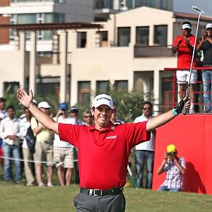 Thomas Aiken won the Avantha Masters on March 17 at Jaypee Greens Golf & Spa Resort in Delhi, India.