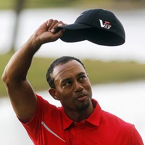 Tiger Woods won the WGC-Cadillac Championship on March 10 at Doral (Fla.) Golf Resort & Spa.