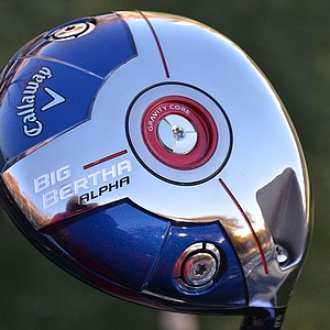 Callaway's new Big Bertha Alpha driver is loaded with adjustability.