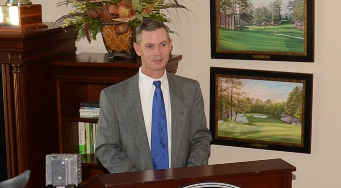 Jack O'Keefe was named head men's golf coach at Georgia Regents Augusta on Monday.