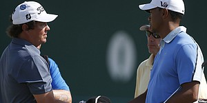 Dufner can't sway Tiger on tee times