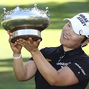 Jiyai Shin of South Korea won the ISPS Handa Australian Open at Royal Canberra Golf Club on February 17, 2013 in Canberra, Australia. Earnings: $180,00