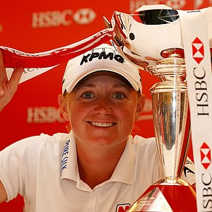 Stacy Lewis of the USA won the HSBC Women's Champions at the Sentosa Golf Club on March 3, 2013 in Singapore. Earnings: $210,000