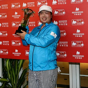 ShanShan Feng of China won the Reignwood LPGA Classic at Pine Valley Golf Club in Beijing, China, October 6, 2013. Earnings: $270,000