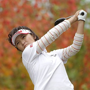 Teresa Lu of Taiwan won the Mizuno Classic at Kintetsu Kashikojima Country Club on November 10, 2013 in Shima, Japan. Earnings: $180,000