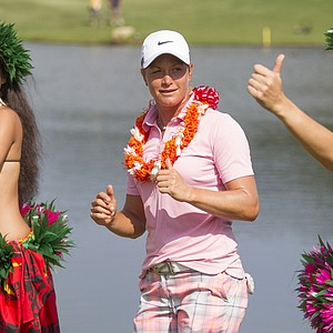 Suzann Pettersen won the LPGA Lotte Championship presented by J Golf at the Ko Olina Golf Club in Kapolei, Hawaii. Earnings: $255,000