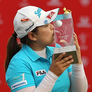 Inbee Park of South Korea won the LPGA Thailand golf tournament in Pattaya, southern Thailand, Sunday, Feb. 24, 2013. Earnings: $225,000