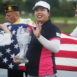 Shanshan Feng won the season ending CME Group Titleholders golf tournament at Tiburon Golf Club in Naples, Fla., November 24, 2013. Earnings: $700,000