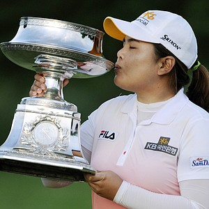Inbee Park won the Wegman's LPGA Championship at Locust Hill Country Club in Pittsford, N.Y., on June 9, 2013. Earnings: $337,500