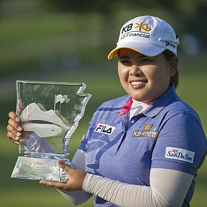 Inbee Park, of South Korea, won the LPGA NW Arkansas Championship in Rogers, Ark., on June 23, 2013. Earnings: $300,000