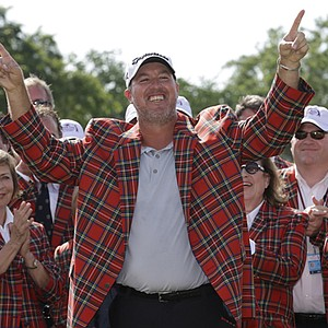 Boo Weekley won the Crowne Plaza Invitational on May 26 at Colonial CC in Fort Worth, Texas. Earnings: $1,152,000