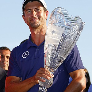 Adam Scott won The Barclays on Aug. 25 at Liberty National in Jersey City, N.J. Earnings: $1,440,000