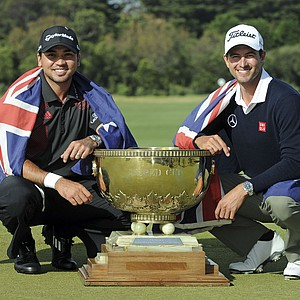 Team Australia – Jason Day and Adam Scott – won the ISPS Handa World Cup of Golf on Nov. 24 at Royal Melbourne GC in Victoria, Australia. Earnings: $1,200,000