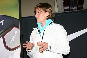 Nike Golf president Cindy Davis during the company's recent Innovation Unleashed event.