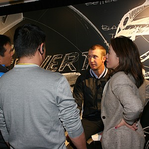 Kevin Chappell during Nike Golf's recent Innovation Unleashed event.