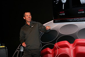 Paul Casey during Nike Golf's recent Innovation Unleashed event.