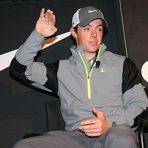Rory McIlroy during a Nike golf event.