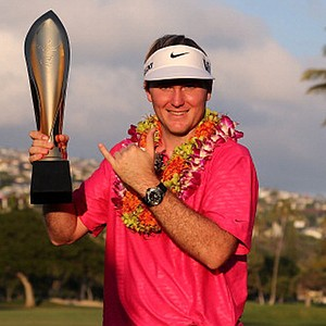 Russell Henley won the Sony Open on Jan. 13 at Waialae CC in Honolulu