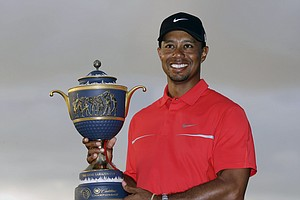 Tiger Woods won the WGC-Cadillac Championship on March 10 at the TPC Blue Monster at Doral (Fla.). Earnings: $1,500,000