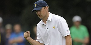 Spieth looks long term, rookie honor under belt