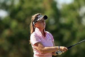 Brittany Altomare is T30 after two rounds of LPGA Qschool final at LPGA International.
