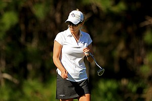 Mallory Blackwelder of Golf  Channel Big Break fame, posted rounds of 73,75 at LPGA Qschool final at LPGA International.