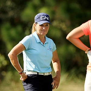 Lorie Kane posted rounds of 72, 73 at LPGA Qschool final at LPGA International.