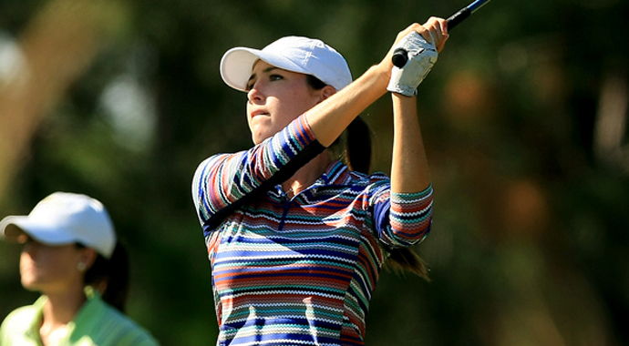 Jaye Marie Green shot a 4-under 68 on Thursday to increase her lead to five strokes after the second round of LPGA Q-School.