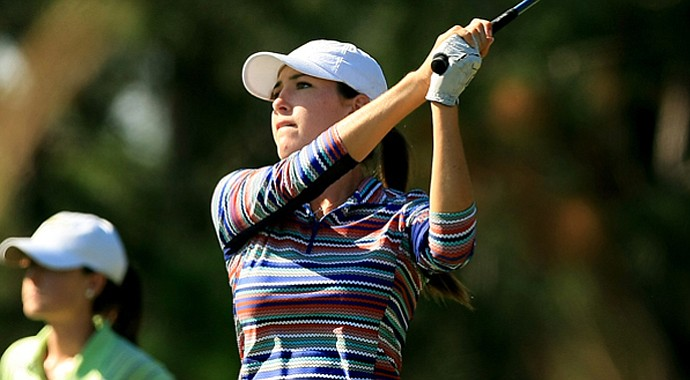 Jaye Marie Green shot 68 during the second round of LPGA Q-School on Thursday at LPGA International.