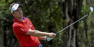 Lightning suspends Sun City play as Donald leads