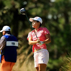 Hannah Yun during LPGA Qschool final at LPGA International.