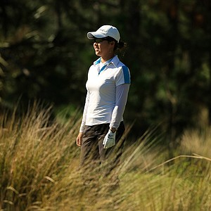Inhong Lim of Australia at LPGA Qschool final at LPGA International.