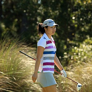 Esther Choe at LPGA Qschool final at LPGA International.