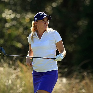 Katie Mundy during LPGA Qschool final at LPGA International.