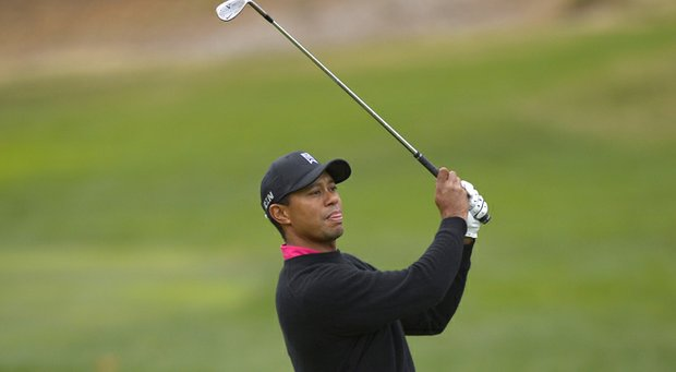Tiger Woods during the 2013 Northwestern Mutual World Challenge.